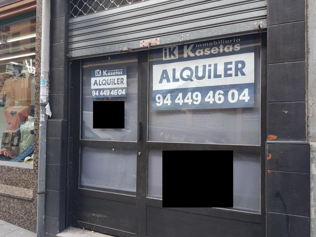 Local en alquiler en basauri 500 00 inmobiliaria kasetas - Inmobiliarias en basauri ...