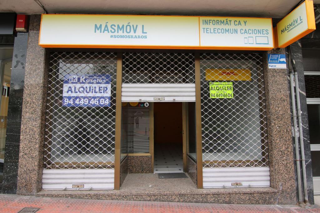 Local comercial en alquiler en Basauri